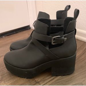 Urban Outfitters Moto Boots